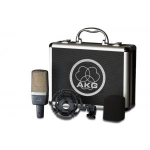 AKG C214 condensor studio mic w/mount case C214 Factory Sealed Retail Box For $261.99 (Ebay.com)