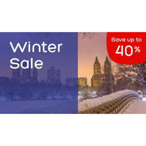 Winter Sale : Save Up to 40$ Off At Hotels.com