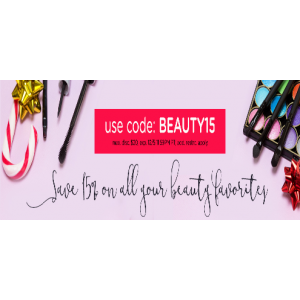 Today Only! Save 15% Off All Beauty Favourite At LivingSocial.com