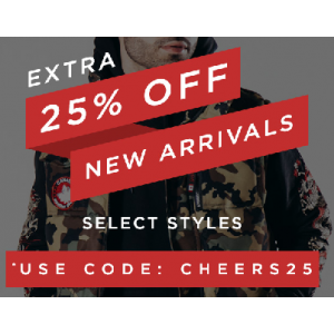 Get Extra 25% Off on New Arrivals Only At JimmyJazz.com