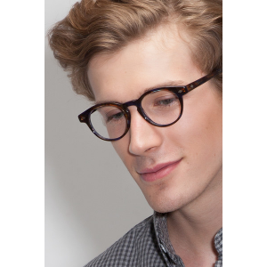Grab CONCEPT Nebular Blue Eyeglasses For $70 At Eyebuydirect.com