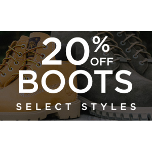 Flat 20% Off On Boots Only At JimmyJazz.com