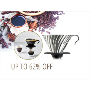 Up to 62% Off on Gourmet Tea & Coffee Accessories At Newegg.com