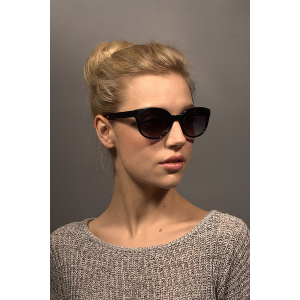 Get MATILDA Black Sunglasses For $29.40 At Eyebuydirect.com