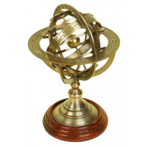 Grab Wordly Globe Armillary For $75 At Homedecorators.com