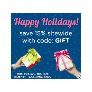 Happy Holidays : Save 15% Off on Sitewide At LivingSocial.com