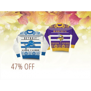 Up to 47% Off on NFL Ugly Christmas Sweaters At Newegg.com
