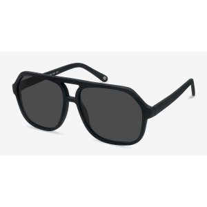 Grab VEGAS Matte Black Sunglasses For $42 At Eyebuydirect.com