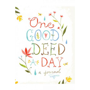 Get One Good Deed A Day Journal For $13 At Homedecorators.com