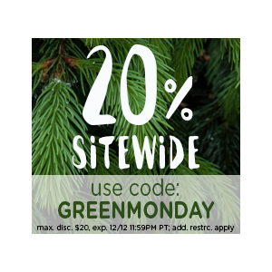 Green Monday Savings : Get 20 % Off on SItewide At LivingSocial.com