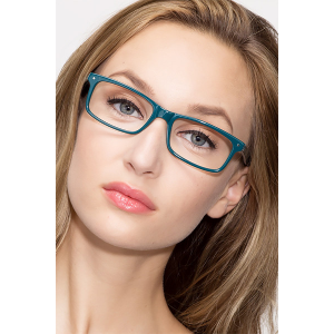 Buy MANDI Teal Eyeglasses For $32 At Eyebuydirect.com