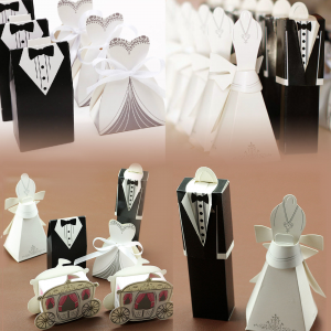 Buy Wedding Party Bride Groom Candy Gift Favour Ribbon Boxes Bag For $7.12 At Ebay.com