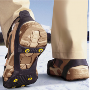 Grab Perfect Solutions Ice Traction Men's Slip Ons For $46.48 At Newegg.com