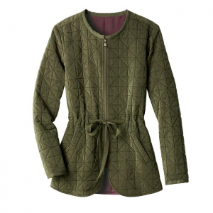 Grab Quilted Field Coat in Misses For $34.99 At Avon.com