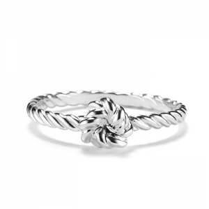 Grab Sterling Silver Knotted Rope Ring For $29.99 At Avon.com