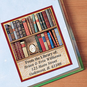 Grab Book Lovers Bookplates Just For $8.95 At CurrntLabels.com