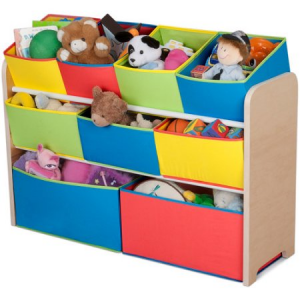 Buy Delta Multi-Color Deluxe Toy Organizer with Bins For $35 At Walmart.com