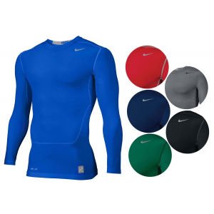Nike Men's Pro Combat NPC Core 2.0 LS Compression Top Shirt For $19.99 At Ebay.com
