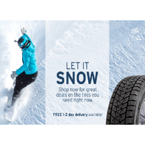 Let It Snow : Shop Now For Great Deals On The Tires & Get Free 1-2 Day Delivery At Tirebuyer.com