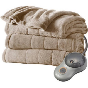 Grab Sunbeam Heated Blankets Starting For $29.88 At Walmart.com