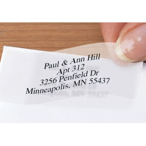 Clear Rectangle Sheeted Address Labels For $9.95 At Currentlabels.com