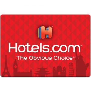 Get $100 Hotels.com Gift Card For Only $85!FREE Mail Delivery Only At Ebay.com