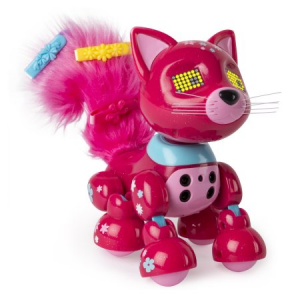 Zoomer Meowzies, Blossom, Interactive Kitten with Lights, Sounds and Sensors, by Spin Master For $27.18 At Walmart.com