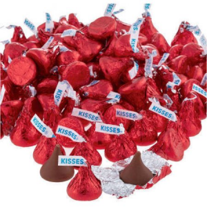 Buy Kisses Milk Chocolate Candy Red Foil For $26.50 At Walmart.com
