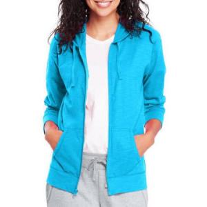 Grab Hanes Women's Slub Jersey Hoodie For $7.86 At Walmart.com