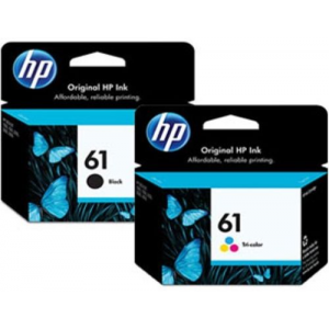 Get 2pack Combo Ink Cartridges 61 Black and Color For $22.99 At Ebay.com
