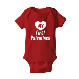 Grab Child Bodysuit My First Valentine For $13.99 At Ebay.com