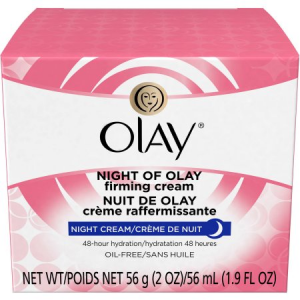 Buy Olay Night Of Olay Firming Facial Moisturizer Cream Just For $5.94 At Walmart.com