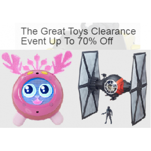 The Great Toys Clearance Event Up To 70% Off Only At Ebay.com
