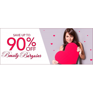 Save Up to 90% Off on Beauty Bargain Only At FragranceNet.com