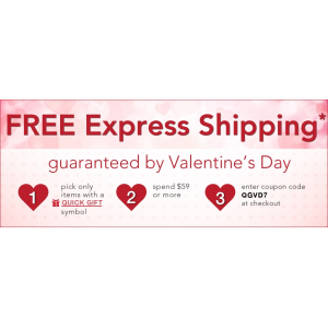 FREE Express Holiday Shipping  : Spend $59 + Pick Quick Gift items At FragranceNet.com