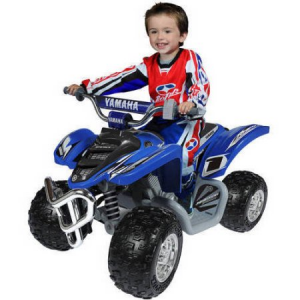 Get Yamaha Raptor ATV 12 Volt Battery Powered Ride On For $199 At Walmart.com