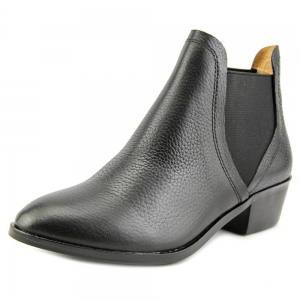 Splendid Henri Women Round Toe Leather Black Ankle Boot For $49.99 At Ebay.com
