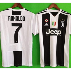 Get Juventus Ronaldo # 7 Soccer Jersey 2018 2019 Home Men's Jersey $46.99 At Amazon.com