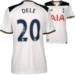 Dele Alli Tottenham Hotspur Autographed 2016-17 Home Jersey - Fanatics Authentic Certified - Autographed Soccer Jerseys $399.99 At Amazon.com
