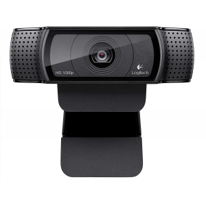 Logitech HD Pro Webcam C920, Widescreen Video Calling and Recording, 1080p Camera, Desktop or Laptop Webcam $49.99 At Amazon
