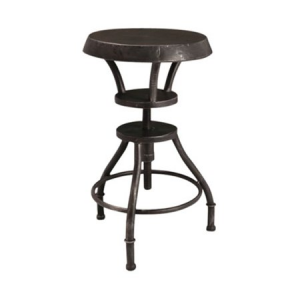 Lucian Iron Top Adjustable Bar Stool $89.99 At Walmart
