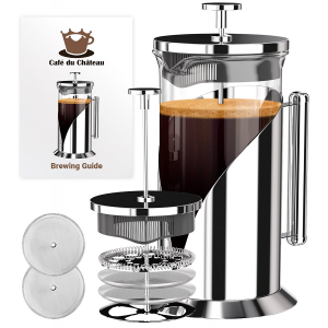 French Press Coffee Maker (8 cup, 34 oz) With 4 Level Filtration System $23.95 At Amazon
