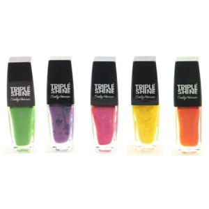 Set of 5 Sally Hansen Triple Shine 0.33 Fl Oz All Different Shades Nail Polish $14.22 At Walmart