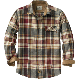 Legendary Whitetails Men's Buck Camp Flannel Shirt $29.99 At Amazon