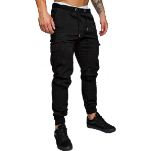 Men's Cargo Pants Slim Fit Casual Jogger Pant Chino Trousers Sweatpants $15.99 At Amazon