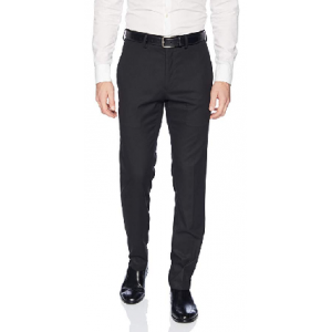 Men's Shadow Check Stretch Slim Fit Dress Pant $39.99 At Amazon