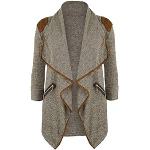 Womens Cardigans Boho Open Front Winter Coats Casual Long Sleeve Tops Cardigan Short Jacket $5 At Amazon