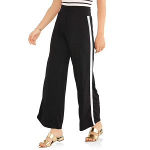 Women's Side Stripe Palazzo Pant $9.50 At Walmart