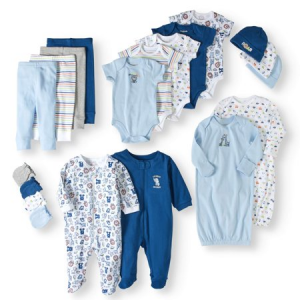 Newborn Baby Boy 20 Piece Layette Baby Shower Gift Set $39.50 At Walmart