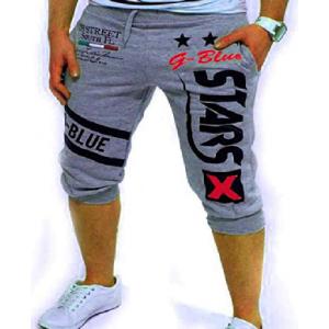 Men's Sport Pants, Fashion Printing Shorts Drawstring Elastic Waist Casual Loose Jogger Trouser $3.99 At Amazon